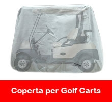 coperta per golf cart